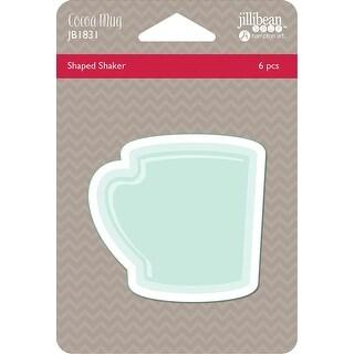 Jillibean Soup Pvc Card Shakers 6/Pkg-Cocoa Mug