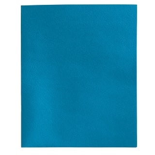School Smart 2-Pocket Folders, Light Blue, Pack of 25