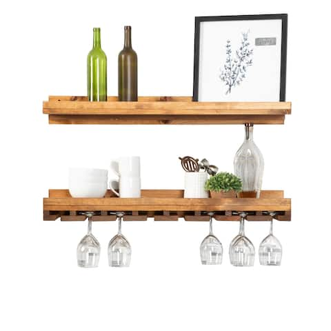 Del Hutson Designs Rustic Luxe Wine Set