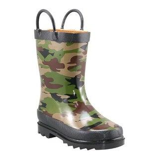 Western Chief Boys' Camo Rain Boot Camo