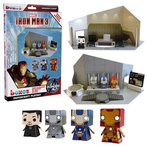 Funko Iron Man 3 Papercraft Marvel Activity Set - Multi
