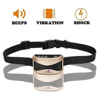 Petsonik No Bark Dog Training Collar With 7 Level Bark Sensitivity, USB Rechargeable, Waterproof