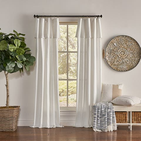 Mercantile Drop Cloth Curtain Panel