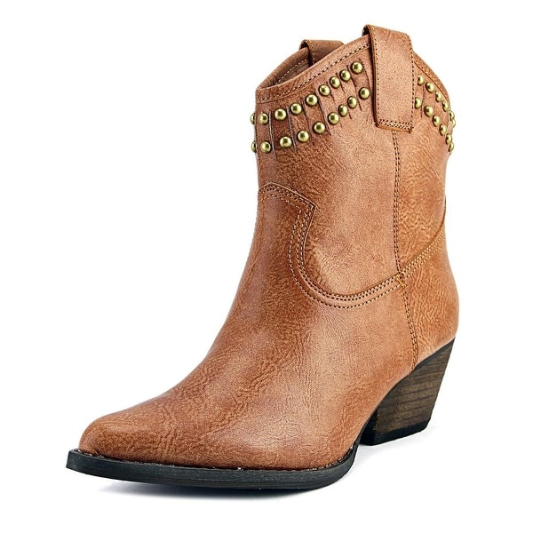 Very Volatile Lunet Women Pointed Toe Synthetic Western Boot