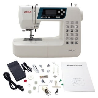 "Link to Janome 3160QDC-B Sewing and Quilting Machine with Bonus Quilt Kit! - 12"" x 7"" x 16"" Similar Items in Sewing & Quilting"