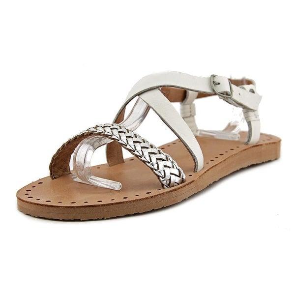 2ec683290c6 Shop Ugg Australia Jordyne Women Open-Toe Leather White Slingback ...