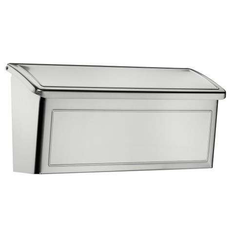 Architectural Mailboxes 2690-10 Venice Wall Mounted Mailbox - Stainless Steel