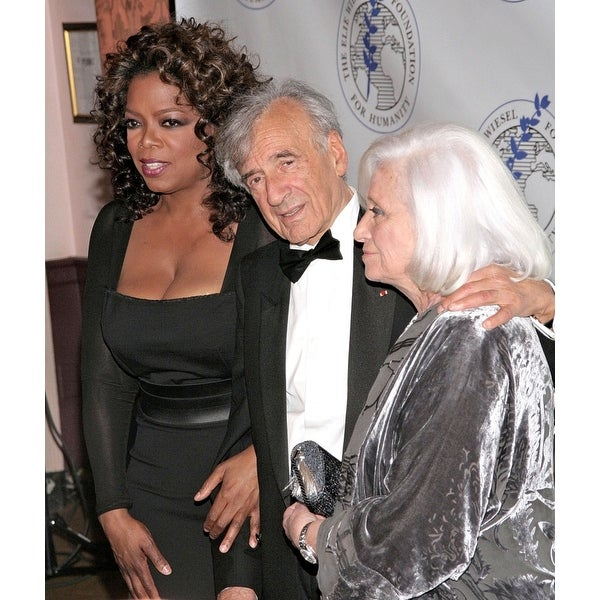Oprah Winfrey Elie Wiesel Marion Wiesel At Arrivals For The Elie Wiesel  Foundation For Humanity Humanitarian Award Waldorf-Astor