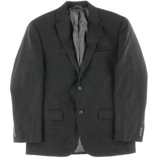Sean John Mens Glen Plaid Notch Collar Two-Button Suit Jacket - 38s