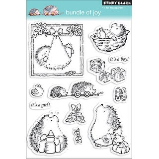 "Penny Black Clear Stamps 5""X7""-Bundle Of Joy"