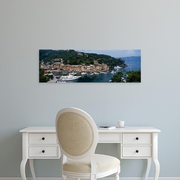 Easy Art Prints Panoramic Images's 'Italy, Portfino' Premium Canvas Art