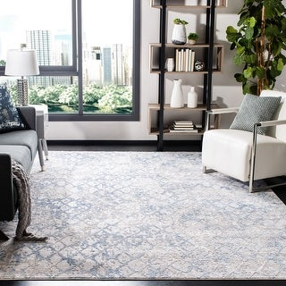 Link to Safavieh Amelia Loretta Modern Trellis Distressed Rug Similar Items in Transitional Rugs