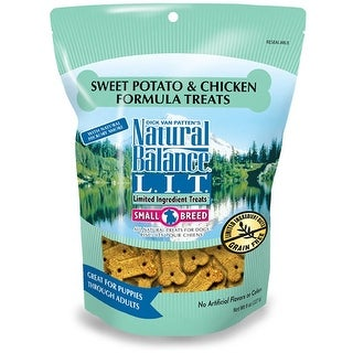 Natural Balance Small Breed Chicken & Sweet Potato Treats 8oz