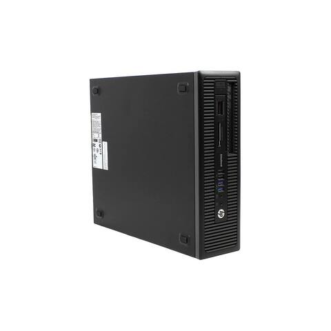HP Prodesk 600 G1 SFF Refurbished PC - Intel Core i5 4570 4th Gen 3.2 GHz 4GB 250GB HDD DVD-RW Windows 10 Pro 64-Bit