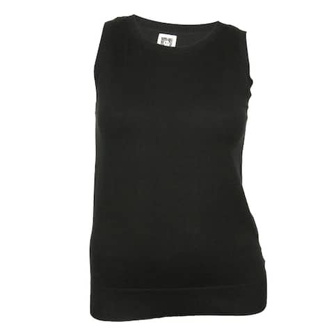 Anne Klein Women's Solid Sleeveless Knit Tank Top