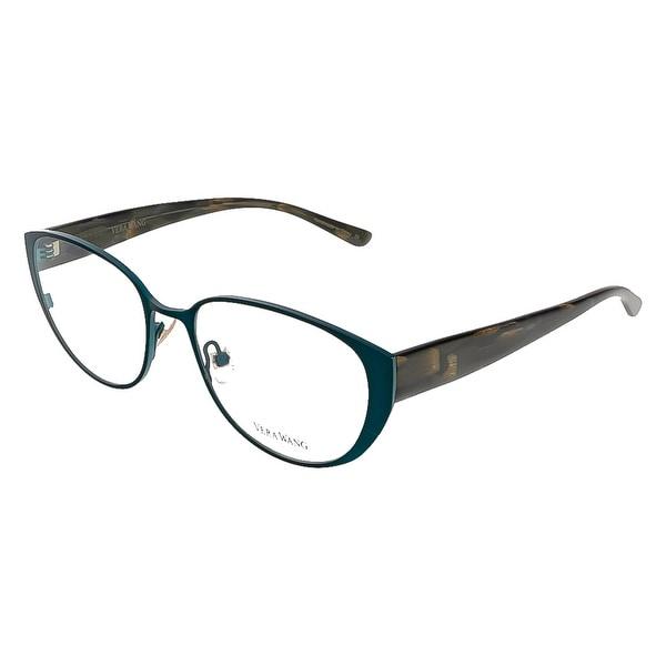 Vera Wang V 304 TL 52 Teal Full Rim Cateye Optical Frame