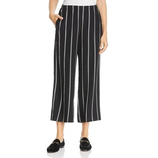 Link to Eileen Fisher Womens Wide Leg Pants Tencel Striped Similar Items in Pants