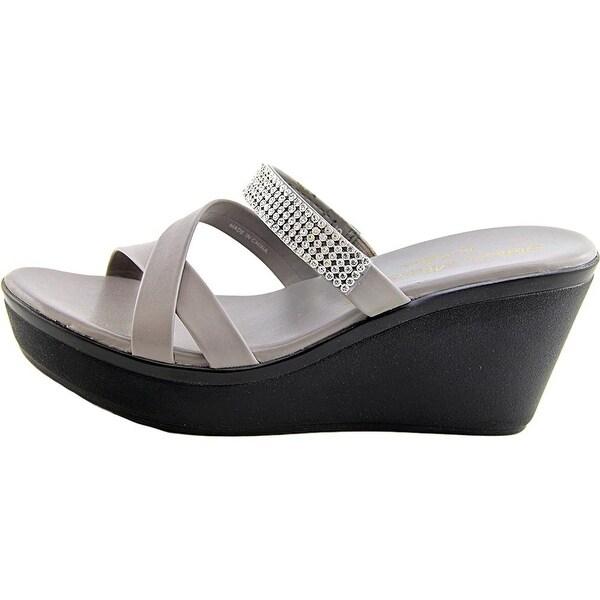 Athena Alexander Womens Modelle Open Toe Casual Platform Sandals