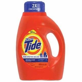 Tide 13878 Laundry Detergent, Original Scent, 50 Oz