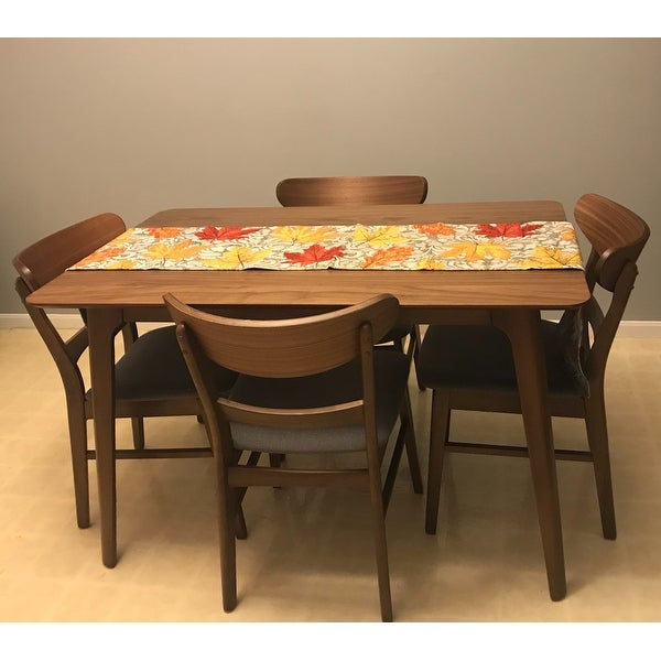 Shop Carson Carrington Ballerup 5 Piece Wood Rectangular Dining Set