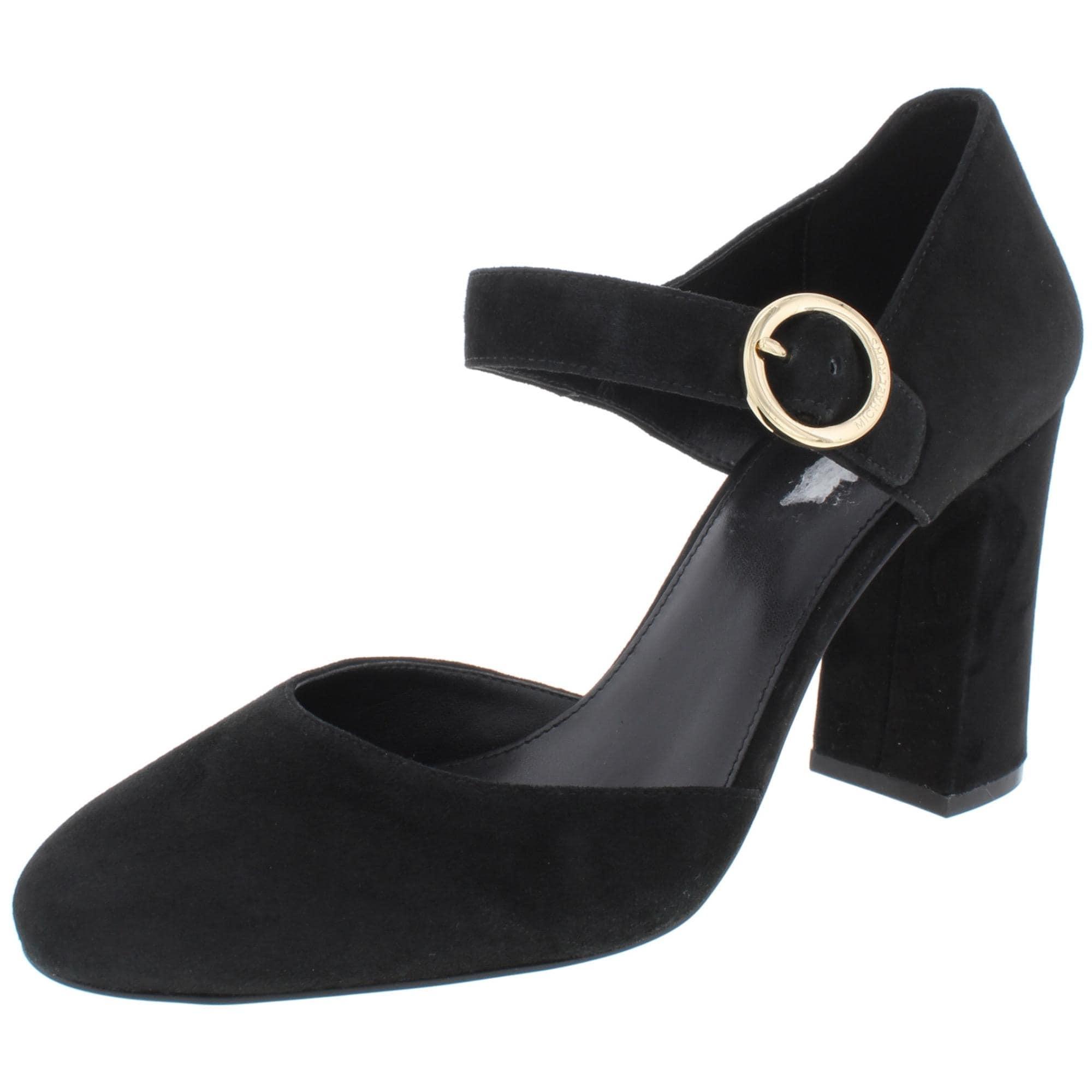 womens black mary jane heels