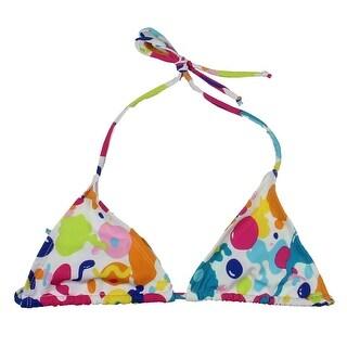 American Apparel Womens Printed Classic Swim Top Separates