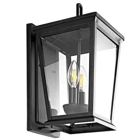 "Safavieh Morla Outdoor Wall Lantern - 8""x9""x14.8"""