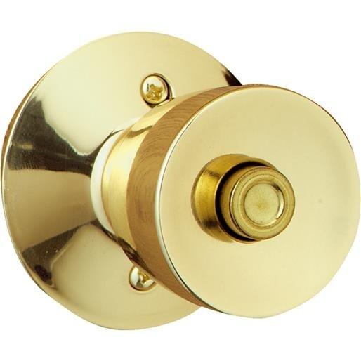 Schlage Lock Pb Bell Privacy Knob F40VBEL605 Unit: EACH