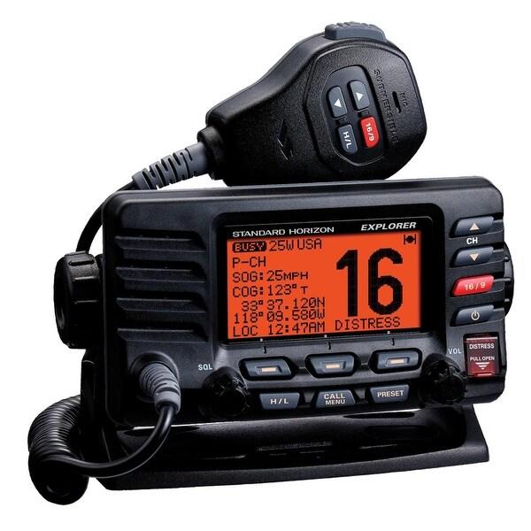 Standard Horizon GX1600B Explorer Ultra Compact Class D DSC - Black