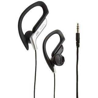 JVC Powerful Sound Adjustable Splashproof Ear-Clip Sport Headphones - Silver