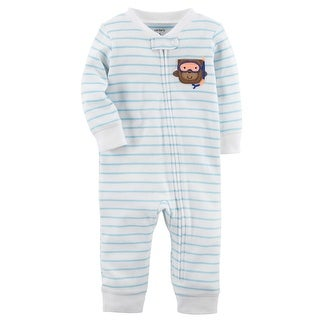 Carter's Baby Boys' Zip-Up Cotton Sleep & Play