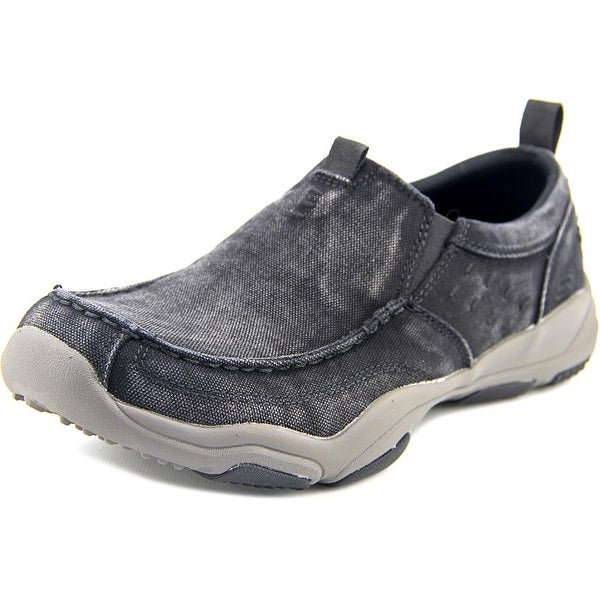 Shop Skechers Larson-Bolten Apron Toe Canvas Loafer - Free Shipping ... 4b8a8153a20