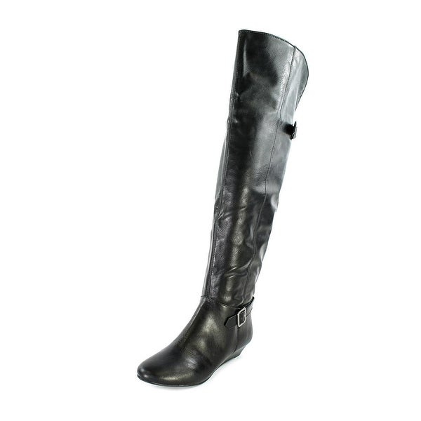 Style & Co Horray Womens Black Boots