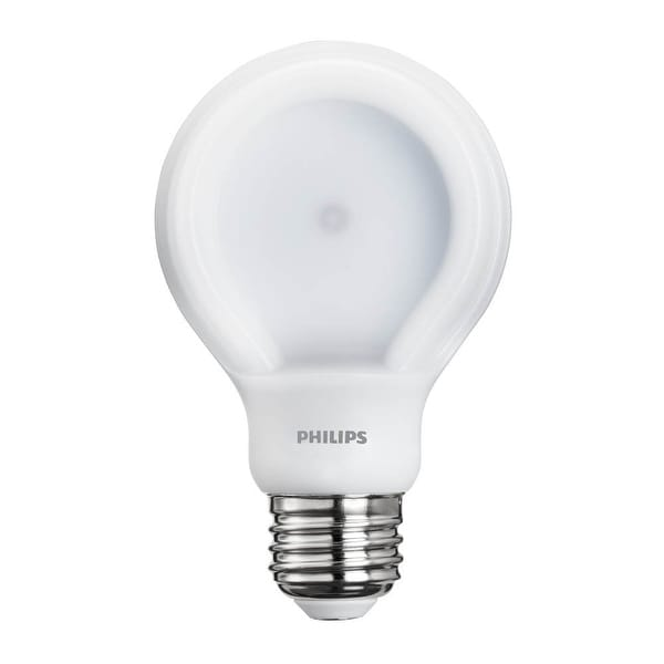 Philips 455469 60 Watt Equivalent SlimStyle A19 LED Soft White Light Bulb, Dimmable, High CRI , ,