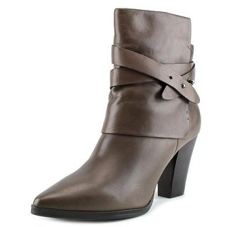 Bruno Premi F3606G   Round Toe Leather  Ankle Boot