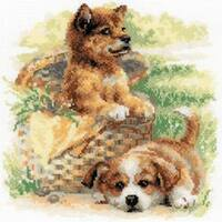 """Tender Age Counted Cross Stitch Kit-9.75""""X9.75"""" 14 Count"""