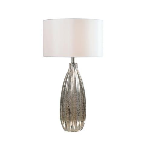 """Largo 29.5"""" Table Lamp - Antique Mercury Glass"""