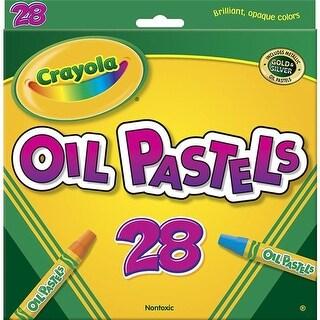 Crayola BIN524628BN Crayola Oil Pastels, 28 Color Set - Box of 6