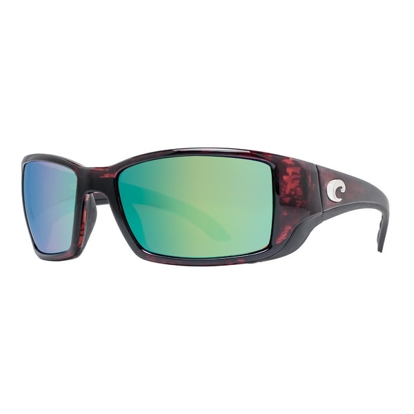 42aa27df35 Costa Del Mar Blackfin BL10OGMP Tortoise 580P Polarized Green Mirror  Sunglasses - tortoise brown - 62mm