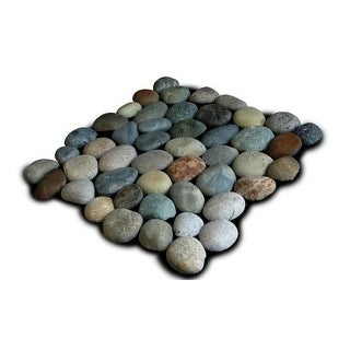 Miseno MT-P3PGO Pebble Natural Stone Mosaic Tile (10.12 SF / Carton)