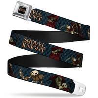 Shovel Knight Full Color Black Gold Shovel Knight Specter Knight Poses Seatbelt Belt