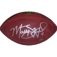 Matthew Stafford signed Official NFL Duke Football 9 Stafford Hologram silver sig Detroit Lions