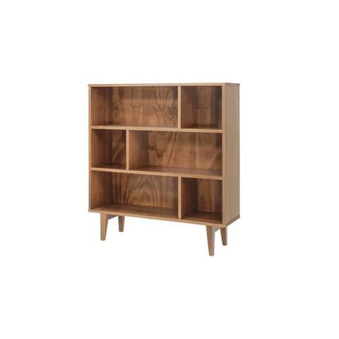 Memomad Charme Solid Wood Geometric Bookshelf