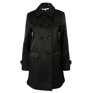 DKNY Women's Double Breasted Coat