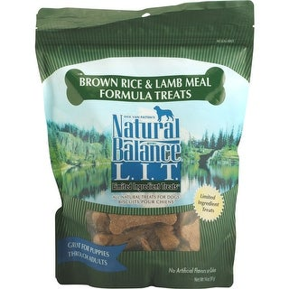 Natural Balance Lamb And Rice Dog Treats