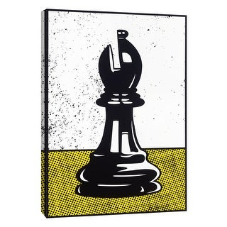 """PTM Images 9-108622  PTM Canvas Collection 10"""" x 8"""" - """"Chess Bishop"""" Giclee Sports and Hobbies Art Print on Canvas"""