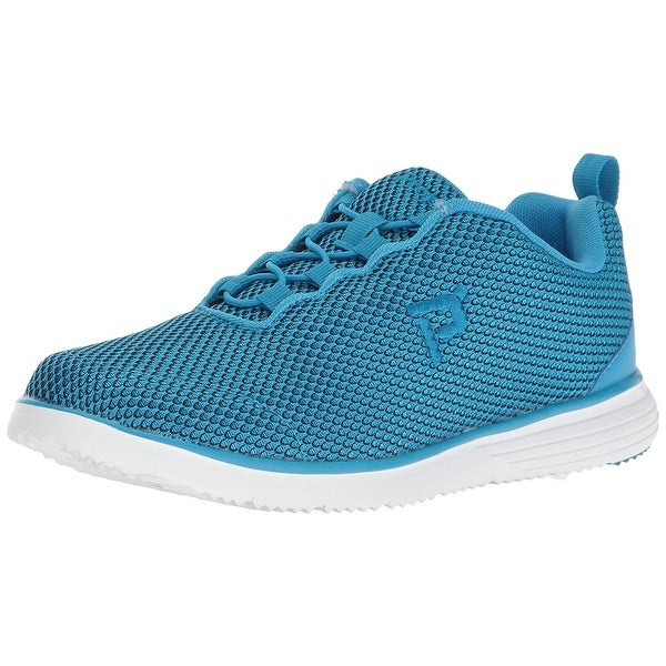 Propét Womens Travel Fit Prestige Low Top Pull On Running Sneaker