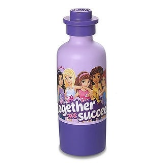 LEGO Drinking Bottle, Lavender (Friends) - Multi