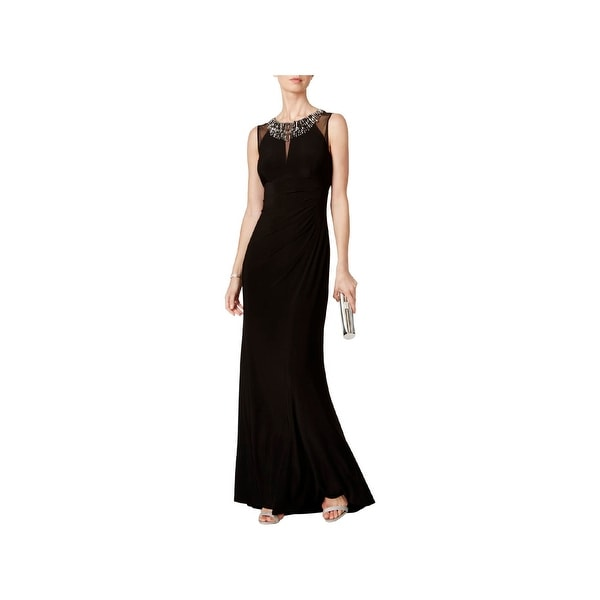 Vince Camuto Womens Evening Dress Embellished Full-Length