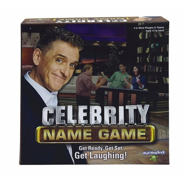 Celebrity Name Game, More Games by Play Monster